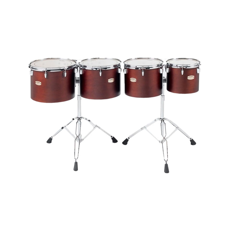 "Yamaha 10/12/13/14"" 8000 Series Single Headed Concert Toms with WS-865A Stands"