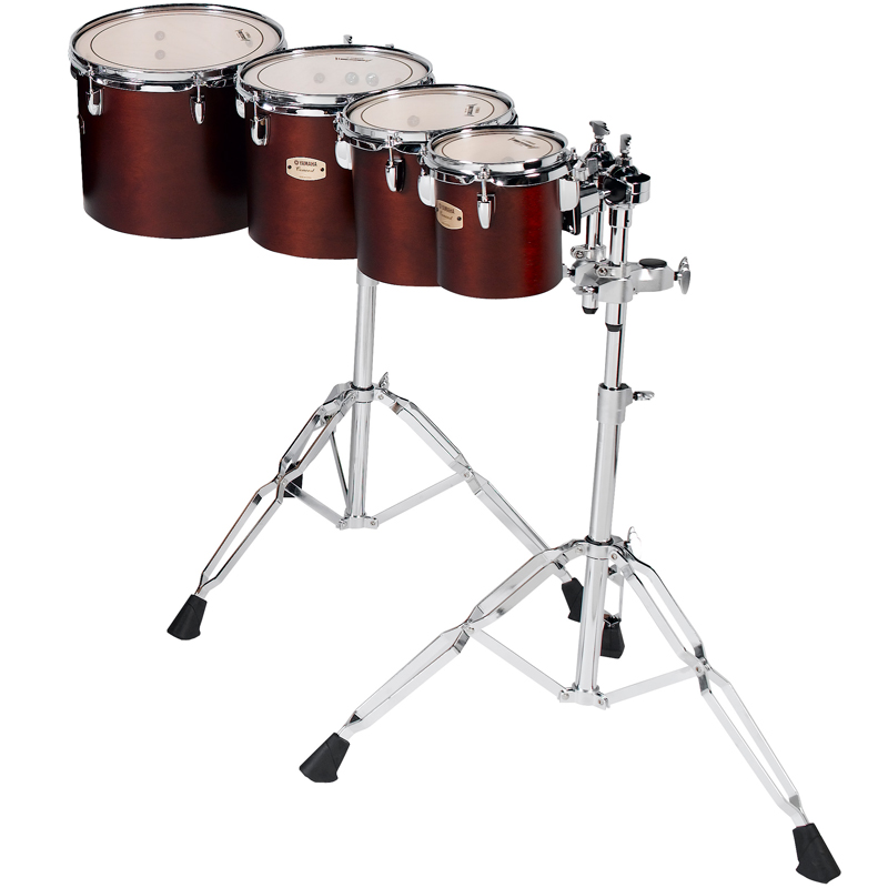 """Yamaha 6/8/10/12"""" 8000 Series Single Headed Concert Toms with WS-865A Stands"""