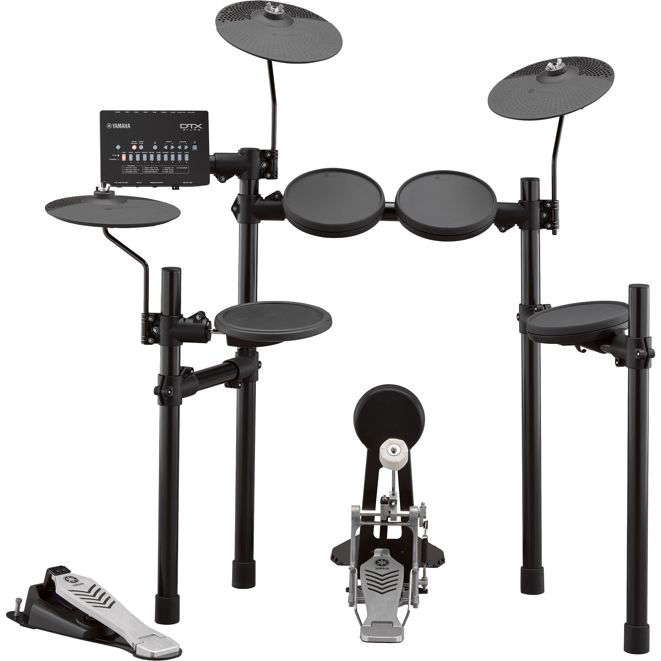 Yamaha Deluxe 5-Piece Electronic Drum Set with Upgraded Triggers/Pads