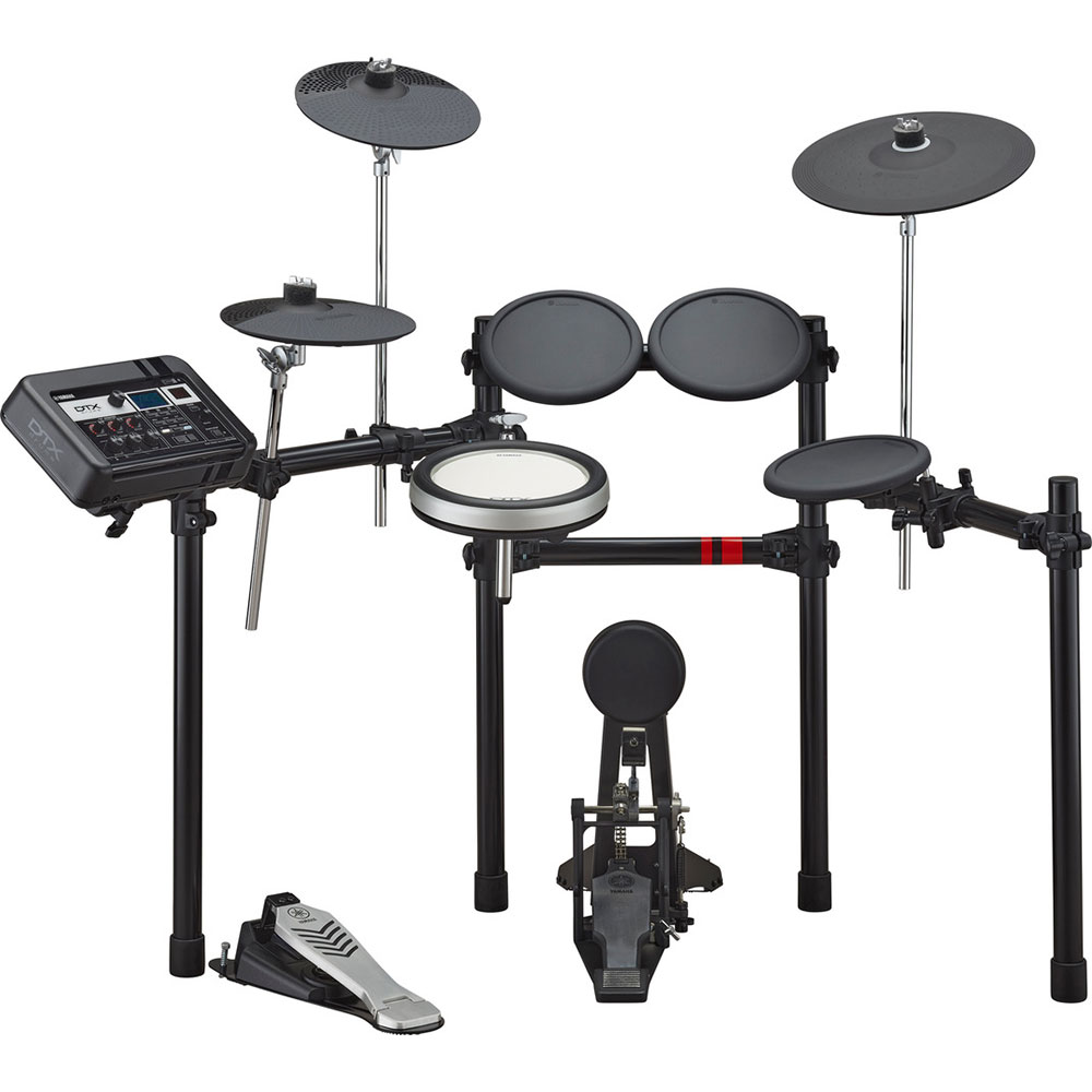 Yamaha 5-Piece Electronic Drum Set with KP65 Kick Tower Pad, XP80 Snare Pad, 3 x TP70 Tom Pads, HH65 Hi Hat Trigger, and RS502 Rack