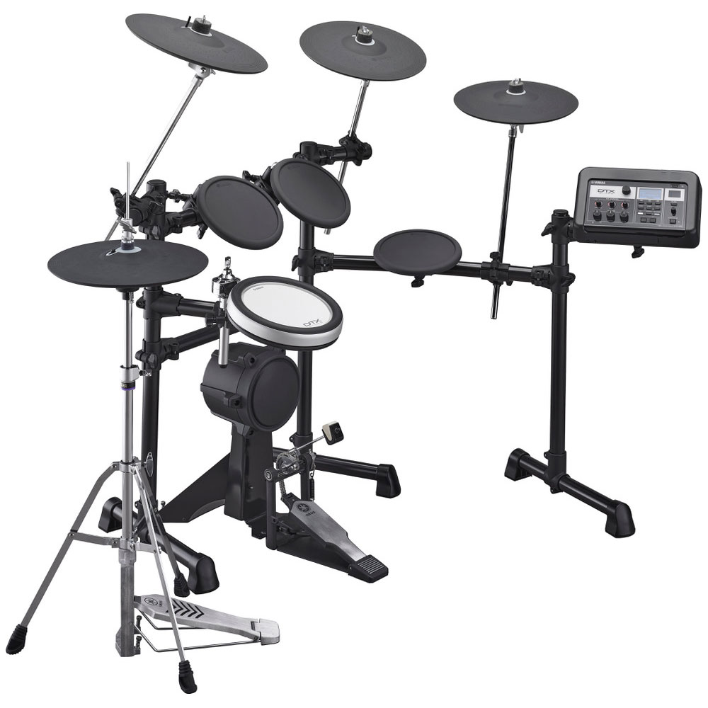 Yamaha 5-Piece Electronic Drum Set with K90 Kick Tower Pad, XP80 Snare Pad, 3 x TP70 Tom Pads, HS650A Hi Hat Trigger, and RS6 Rack