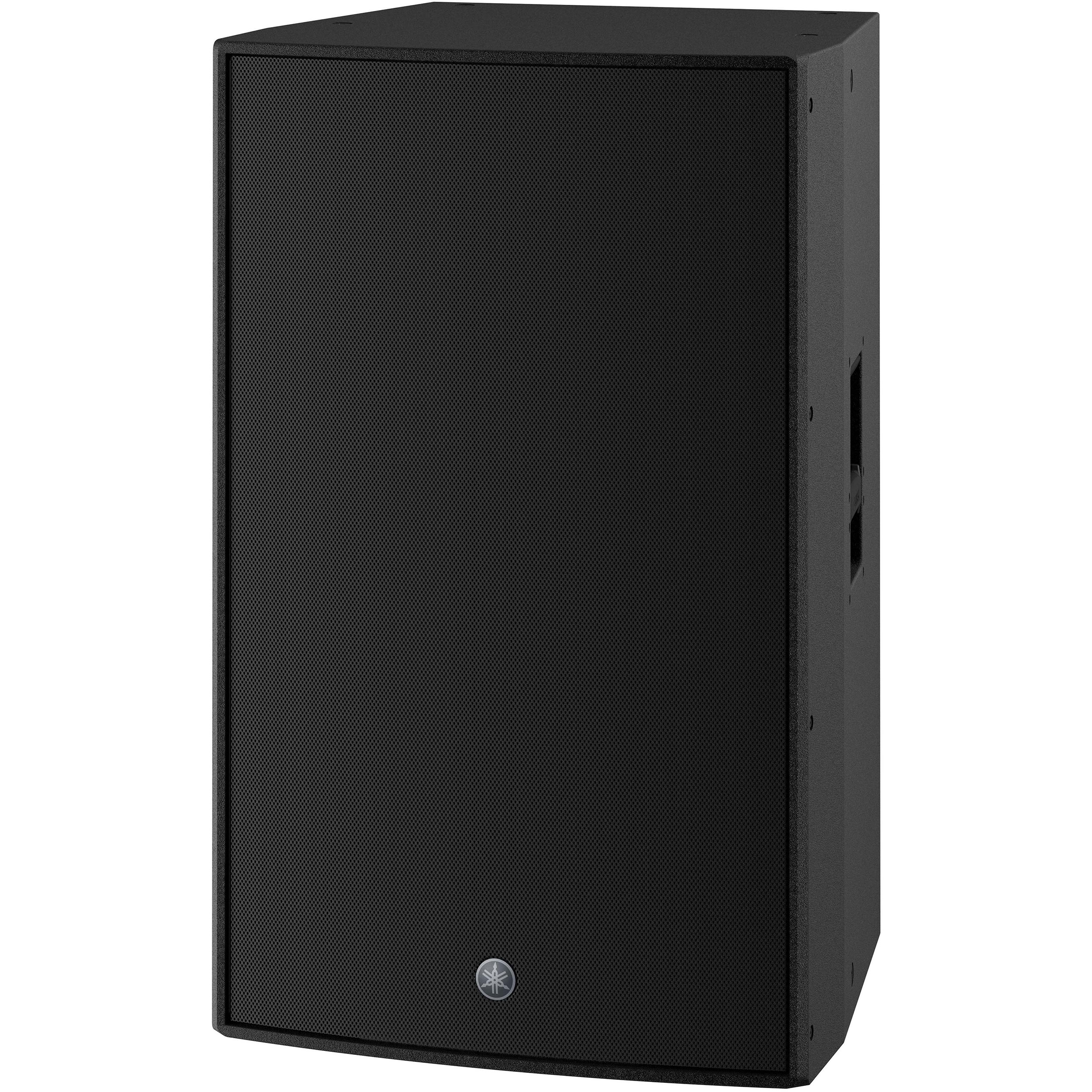 """Yamaha 15"""" 3-Way 2000W Powered Speaker with Dante Interface and DSP"""
