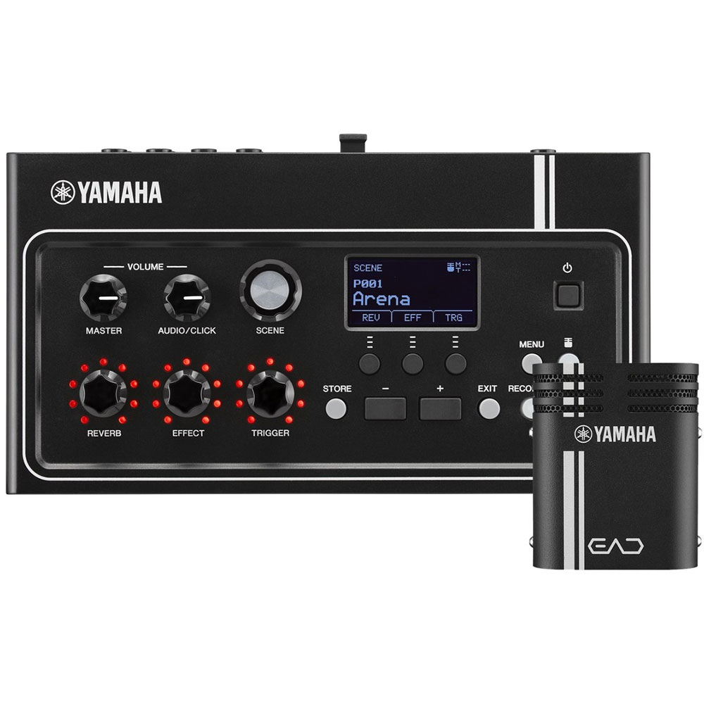 Yamaha Electronic-Acoustic Drum Module with Microphone and Trigger Pickup