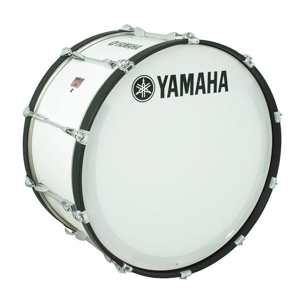 "Yamaha 22"" Power-Lite Marching Bass Drum"