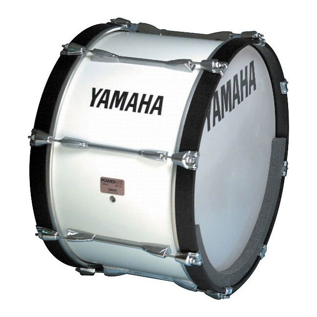 "Yamaha 24"" Power-Lite Marching Bass Drum"
