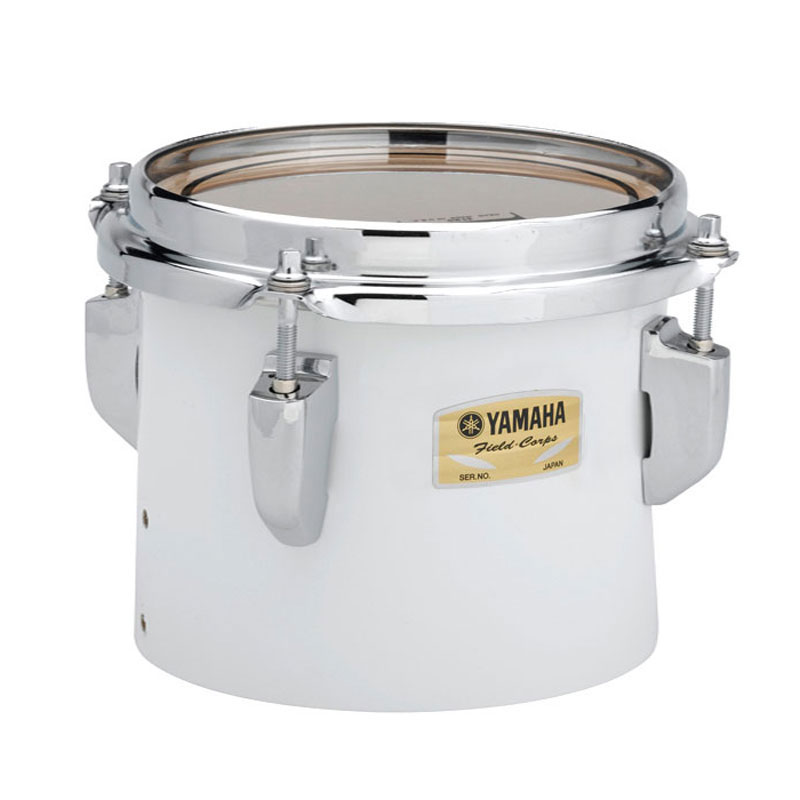 "Yamaha 10"" 8200 Field-Corps Individual Marching Tenor Drum in White (Used)"