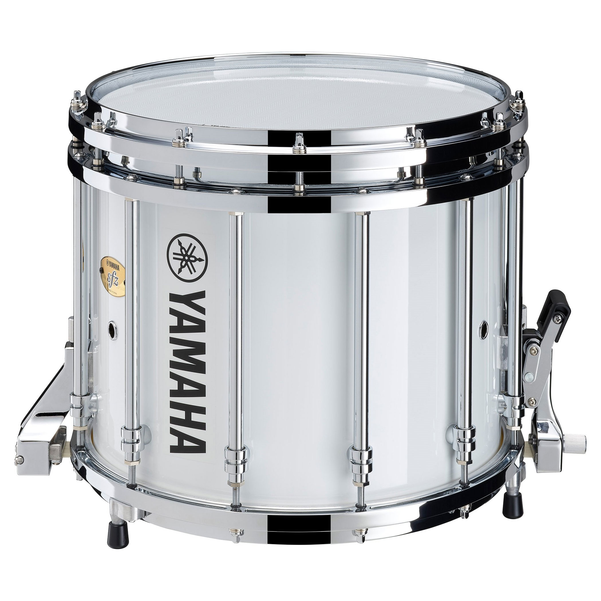 """Yamaha 14"""" x 12"""" 9400 Series SFZ Marching Snare Drum with Chrome Hardware"""