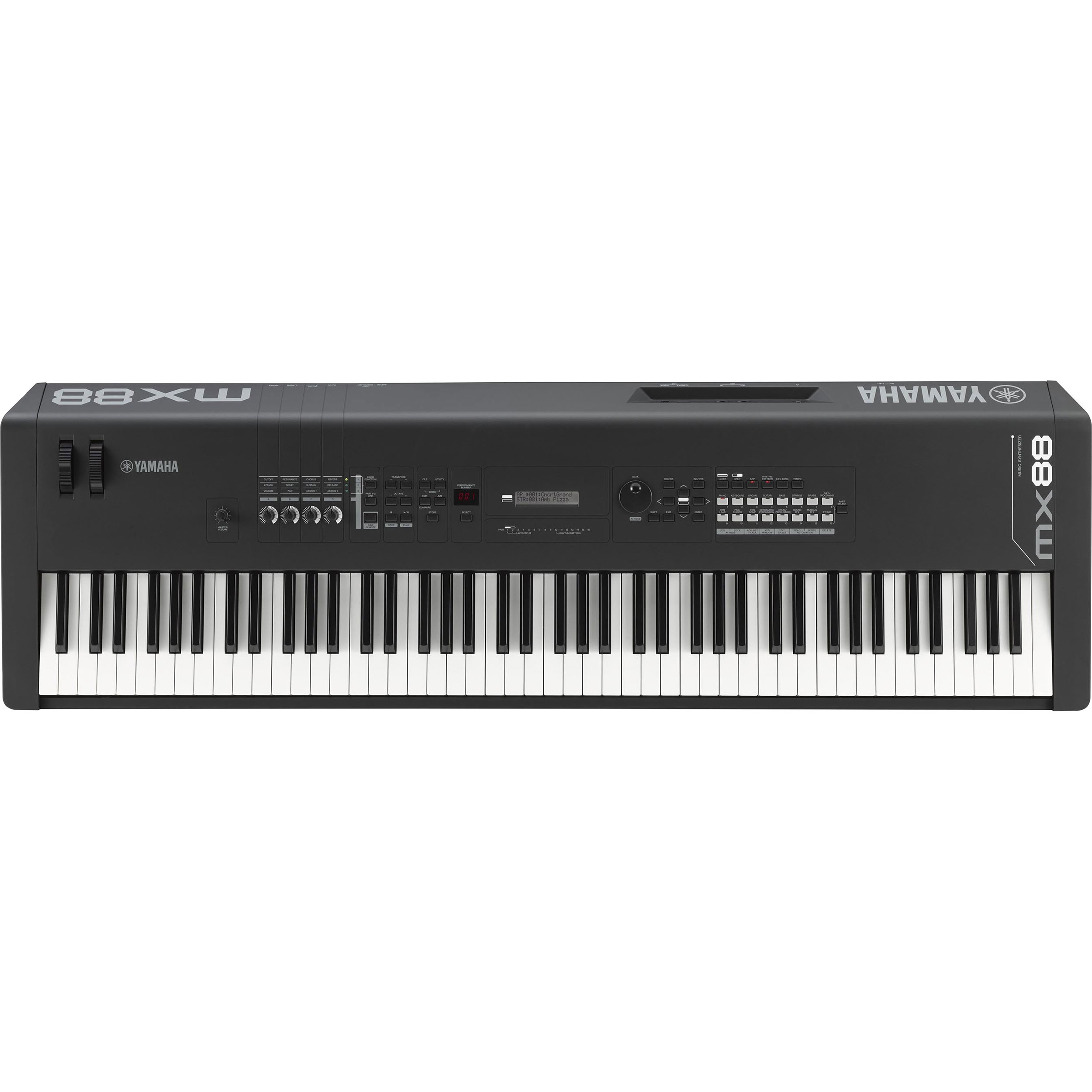 Yamaha 88-Key MX Series Weighted Action Synthesizer in Black