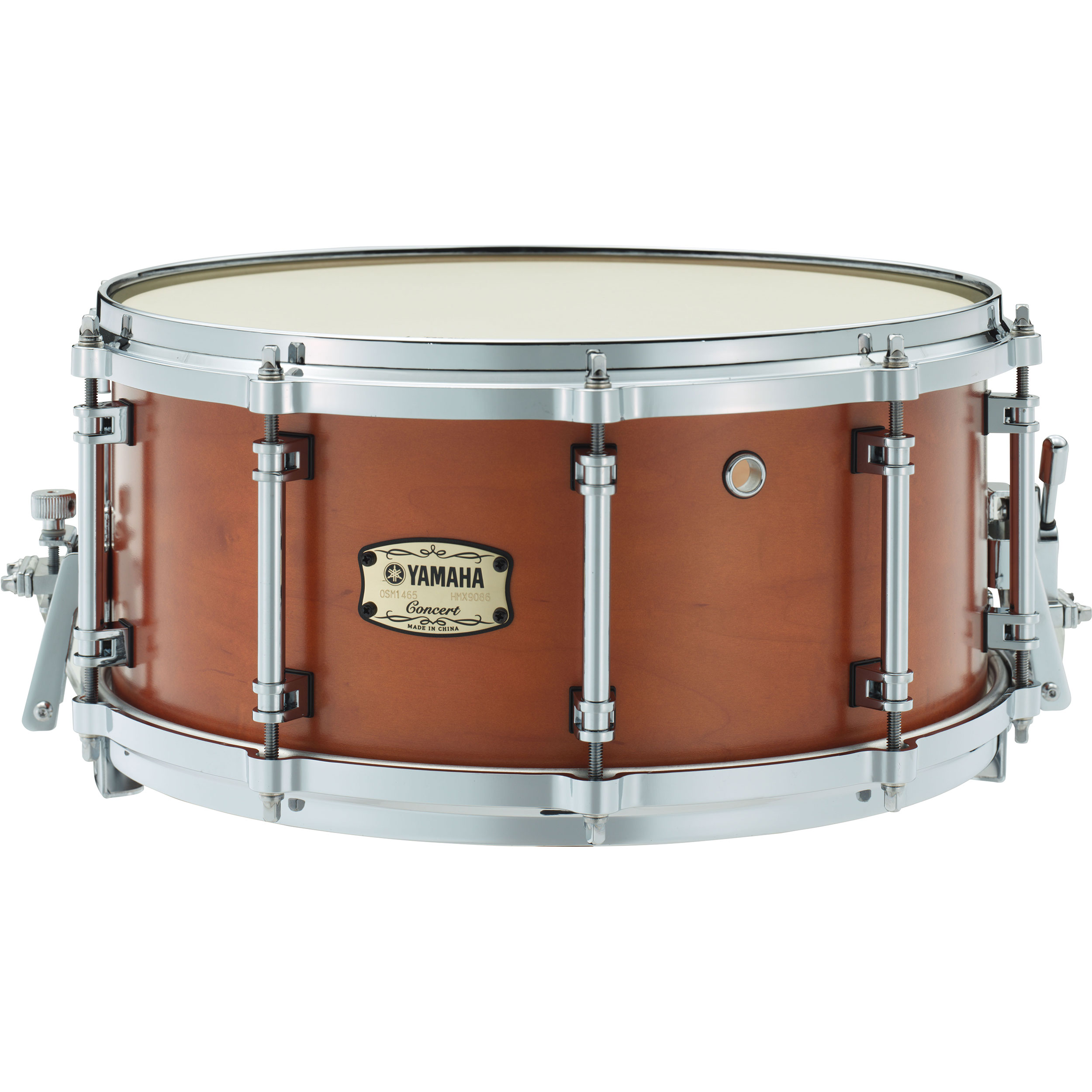 """Yamaha 14"""" x 6.5"""" Orchestral Series Maple Concert Snare Drum"""