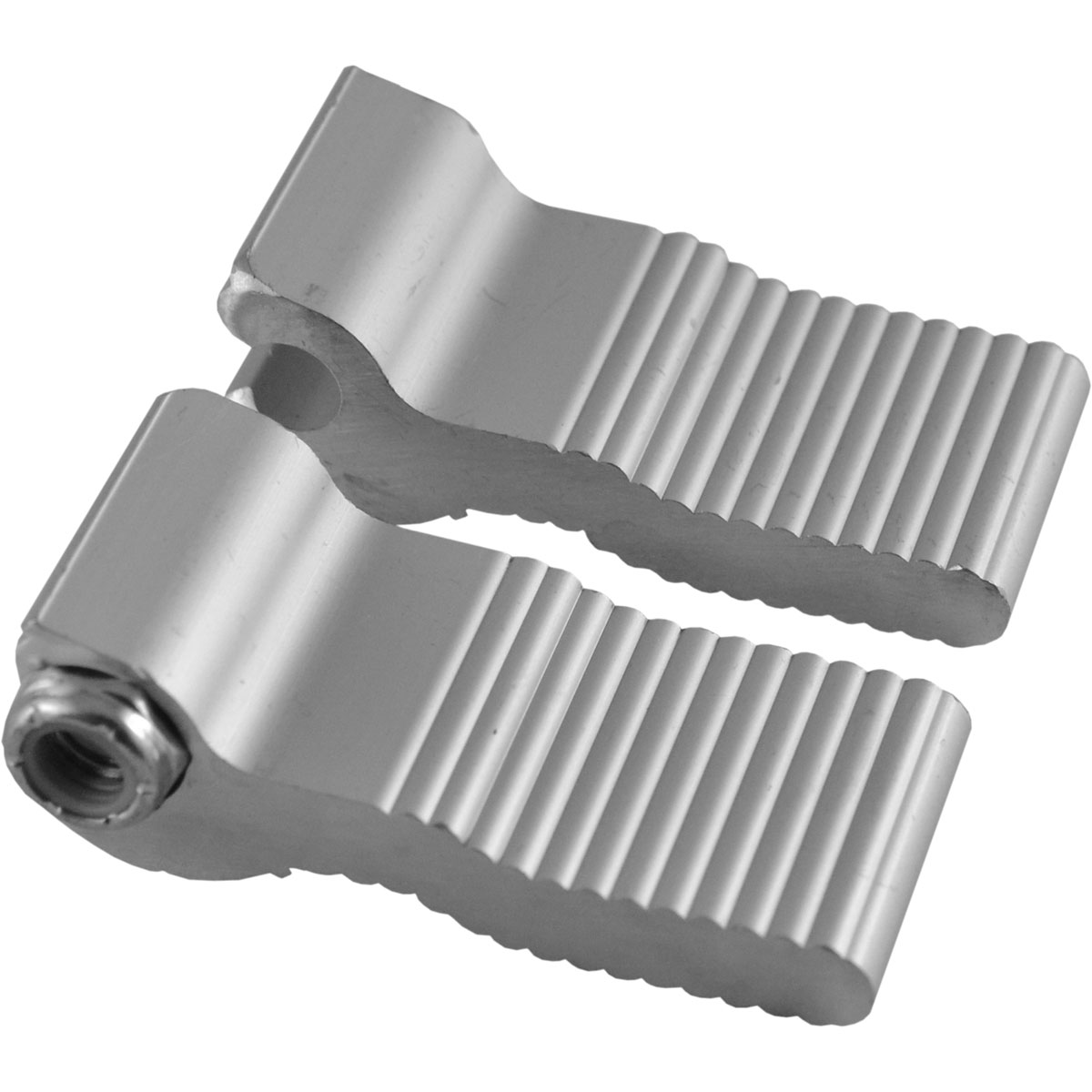 Yamaha Left and Right End Plugs for BiPosto Tenor Rail (Screws Not Included)