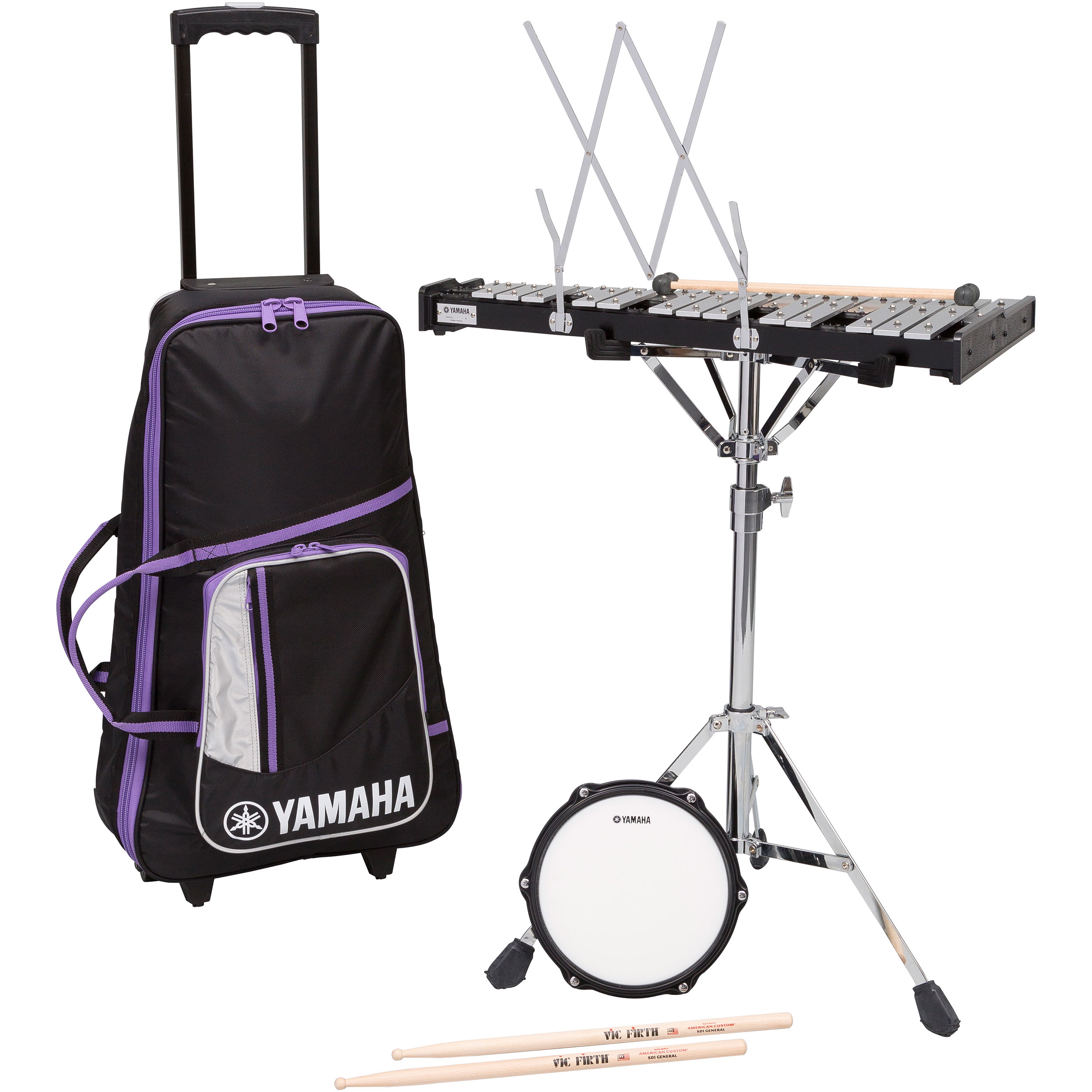 Yamaha  Total Percussion Bell Kit with Rolling Cart