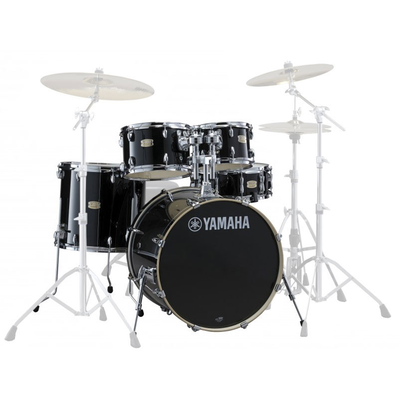 "Yamaha Stage Custom 5-Piece Rock Drum Set Shell Pack (20"" Bass, 10/12/14"" Toms, 14"" Snare)"