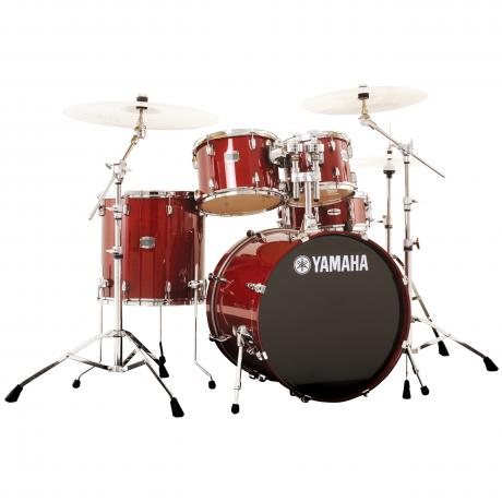 Yamaha Stage Custom 5-Piece Rock Drum Set with HW-680W Hardware Pack (20