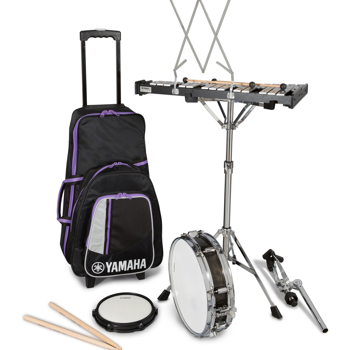 Yamaha Total Percussion Combination Kit with Rolling Cart