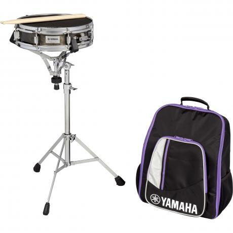 Yamaha Student Snare Drum Kit with Backpack-Style Bag & Rolling Cart