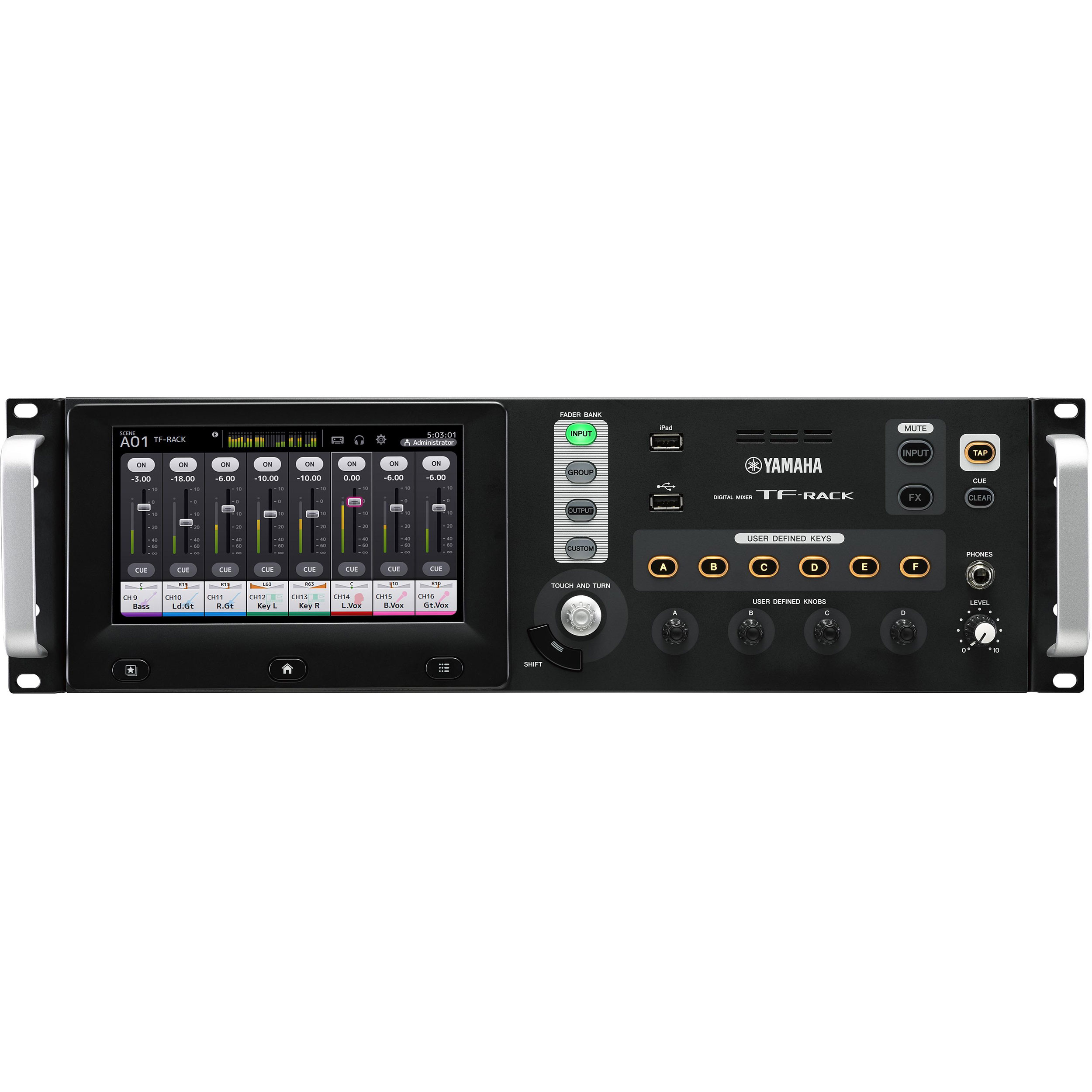 Yamaha 32-Channel Rack-Mounted Digital Mixer with 16 Analog Inputs