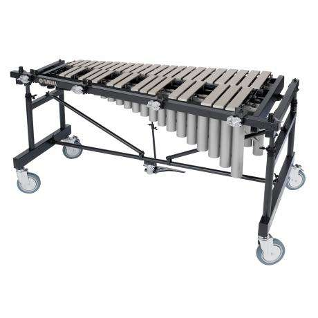 Yamaha 3 Octave Silver Studio Vibraphone, Motor, Multi-Frame with Cover