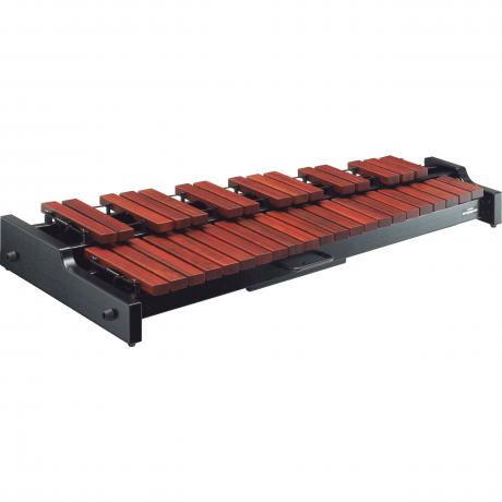 Yamaha 3.0 Octave Standard Padauk Xylophone with Cover, YGS-70 Stand, and PCS-YX230 Case
