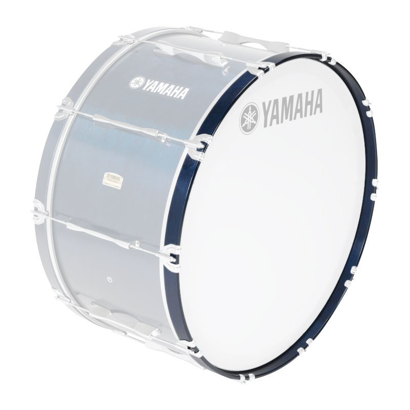 """Yamaha 24"""" 8300 Series Marching Bass Drum Hoop in Blue Forest"""