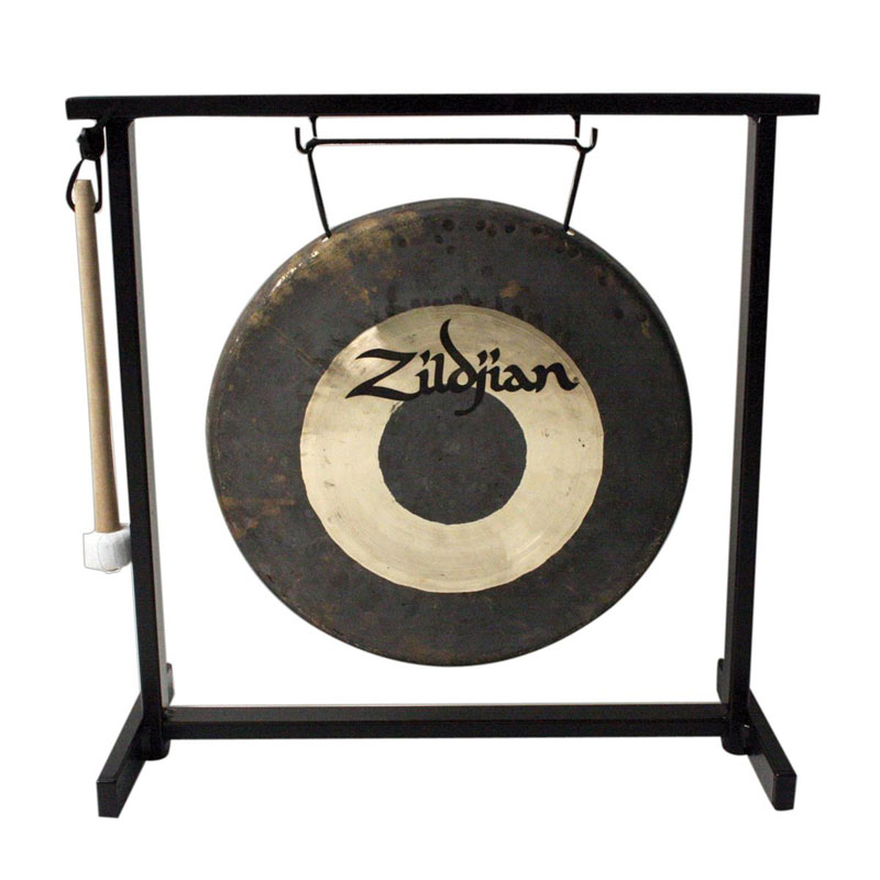 "Zildjian 12"" Traditional Gong with Stand"