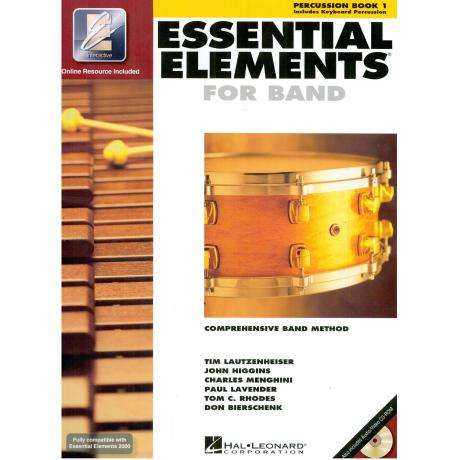 Essential Elements for Band : Percussion Book 1