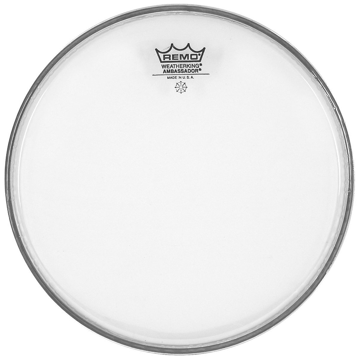 "Remo 13"" Ambassador Hazy Snare Side (Bottom) Drum Head"